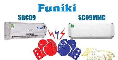 So sánh Funiki SBC09 và SC09MMC